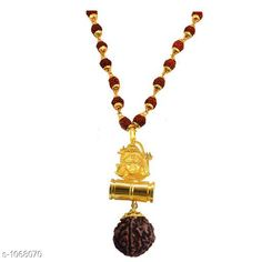 Jewellery Stylish Jewellery Set  *Material* Wood And Brass  *Size* Free Size  *Description* It Has 1 Piece of Lord Shiv Shankar With Damaru & Rudraksha Mala  *Work* Beads Work  *Sizes Available* Free Size *   Catalog Rating: ★4 (143)  Catalog Name: Amazing Stylish Jewellery Set Vol 12 CatalogID_130585 C65-SC1227 Code: 951-1068070-