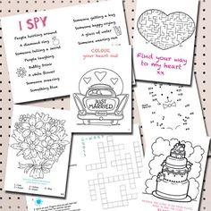 Kids Activity Coloring Book, Wedding, DIY Printable, Childrens Games, Puzzles, Wedding Favors, Rustic, Stationary, Colouring, Maze, I Spy **This is a digital file so you can print as many times as you need**  A 10% DISCOUNT COUPON is sent to all first time customers to apply to your next order. (only one coupon per customer after initial purchase)  UPGRADE – Why not add this design to other party stationary.   VISIT OUR SHOP FOR A HUGE SELECTION OF INVITATIONS AND MATCHING ITEMS…