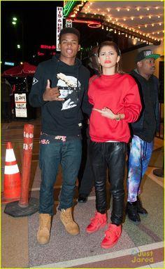zendaya and trevor jackson Zendaya And Trevor Jackson, Diggy Simmons, Zendaya Maree Stoermer Coleman, Hip Hop Girl, Grown Ish, Swag Style, Best Friend Goals, Star Fashion, Men Fashion