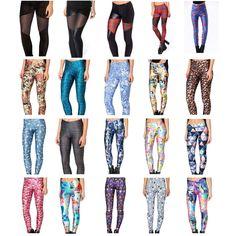 3D Graphic Printed Womens Leggings Disney Cartoon Movie Funny Cute Tight Pants #Topchic