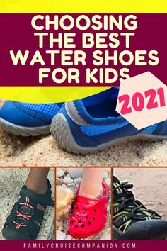 For your beach or cruise vacation, a good pair of water shoes will protect kids' feet from cuts, scrapes, and abrasions from rocks, rough seaweed, or other beach debris. And, they will also protect against the hot pavement around the pool! See the best choices for 2021. Best Water Shoes, Water Shoes For Kids, Cruise Tips, Cruise Vacation, Kids And Parenting, Parenting Hacks, Travel With Kids, Kid Shoes, Toms