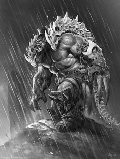 ArtStation - The Art of Warcraft Film - BlackHand , Wei Wang