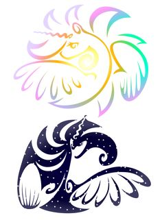 MLP Tribal 2 by KwartzKitten.deviantart.com on @DeviantArt