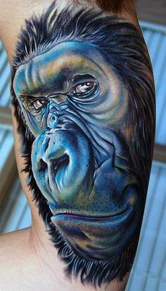gorilla tat