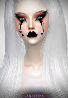 Jenni Sims: Halloween Eyeshadow • Sims 4 Downloads