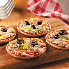 Fun pizza dinner idea!