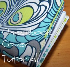 checkbook cover sewing tutorial - diy free sewing Add an elastic to hold the register and a plastic divider. Fabric Crafts, Sewing Crafts, Sewing Projects, Craft Projects, Sewing Hacks, Sewing Tutorials, Sewing Ideas, Sewing Tips, Sewing Patterns Free