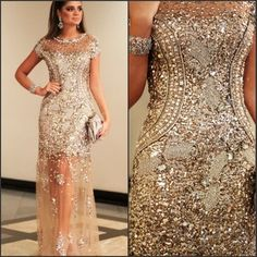 Image result for sequin evening gowns