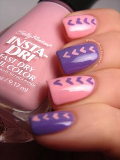 """Make all your friends say, """"Aww!"""" when they see how cute your mani is. #heartmani #nailart"""