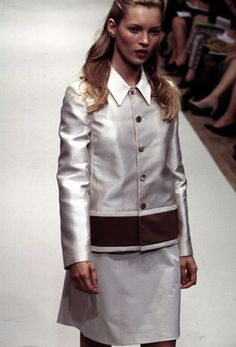 kate moss at prada spring/summer 1996