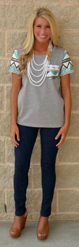 PICTURE IN MY POCKET TEE $32.99