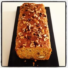 Pierre Hermè's  carrots and hazelnut cake.  Gorgeous treat, lactose and eggs free.