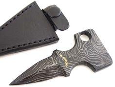 Push Dagger Knives | Damascus Push Dagger-by-Mark-Antony Knives - Arizona Custom Knives ...