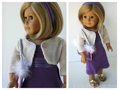 Simple Doll Dress from an old t-shirt