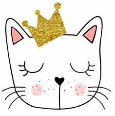 Kitten Party, Bunny Party, Cat Party, Crazy Cat Lady, Crazy Cats, Cat Birthday, Birthday Parties, Bday Girl, Shaped Cards