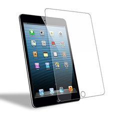 iPad Mini 3/ Mini 2/ Mini 1 Screen Protector, WEOFUN Premium iPad Mini 1/ Mini 2/ Mini 3 Tempered Glass Screen Protector Film [2.5D Round Edge, Anti-Scratch, Anti-Fingerprint]  Compatible model: iPad Mini 3/ Mini 2/ Mini 1, perfectly fit your tablet screen(NOT fit for iPad Mini 4)  Made with high quality 0.33mm 9H hardness premium tempered glass with 2.5D rounded edges  One-push super easy installation, bubble free, makes it easy to install this apple iPad Mini 3/ Mini 2/ Mini 1 screen...