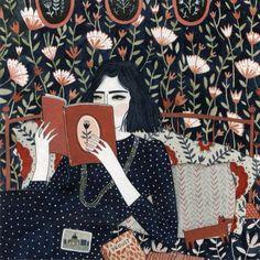 Cari appassionati di illustrazioni, vi presentiamo un'opera realizzata da una grande illustratrice contemporanea. Quella di oggi è di © Yelena Bryksenkova, nata a San Pietroburgo ma cresciuta nell'Ohio. Quanti occhi servono per guardarla?