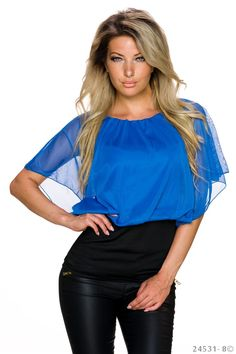 Bluza Tender Woman Blue