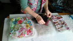 Как готовить ткань к приваливанию на бергшаф