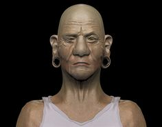 """Check out new work on my @Behance portfolio: """"Old Man"""" http://be.net/gallery/48331227/Old-Man"""