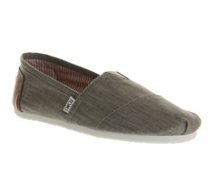 Toms Toms Classic Grey Chambray - Casual