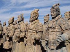 Guerreros del ejército de Terracota