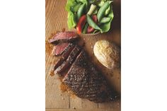 Supper: Spicy steak and baked potato Steak And Baked Potato, Spicy Steak, Man Food, Potatoes, Foods, Dinner, Health, Recipes, Food Food
