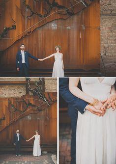 Bride and groom #wedding (Image by Mango Studios)