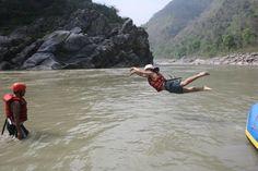 The Perfect Timing - Rafting at Trishuli River, Nepal