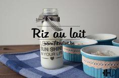 Riz au lait à la vapeur