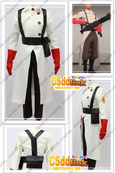 Team Fortress 2 Medic Cosplay Costume by CSddlinkcosplay on Etsy, $100.99
