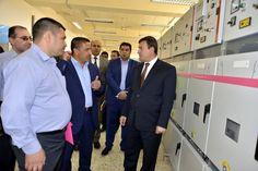 افتتاح محطة توزيع كهرباء ثانوية في منطقة فريحة في كربلاء