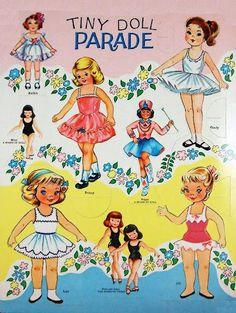 Paper Dolls~Tiny Doll Parade - Bonnie Jones - Picasa Web Albums
