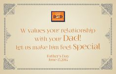 This #FathersDay, weave the love of words for your dad, in a postcard. Coming soon #DAD : Dear Adorable Dad! #StayTuned
