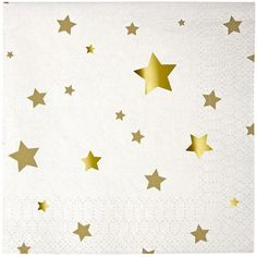 Meri Meri Toot Sweet Gold Star Small Napkins