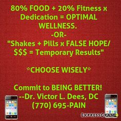 ROSWELL'S ACCIDENT INJURY WELLNESS DOCTOR (770) 695-PAIN... Accepting New Patients..  DEES FAMILY CHIROPRACTIC 1150 Grimes Bridge Rd. Suite 400, Roswell, GA 30075   #Atlanta #Georgia #chiropractic #wellness #athletes #bodybuilding #followforfollow #crossfit #mma #baseball #soccer #basketball #rugby  #runners #swimmers #lacrosse #karate #judo #bjj #taekwondo #boxing  #wrestling    FREE WELLNESS & SPINAL EVALUATION~~WEEKEND& EVENING APPOINTMENTS AVAILABLE ---ATHLETE DISCOUNTS AVAILABLE