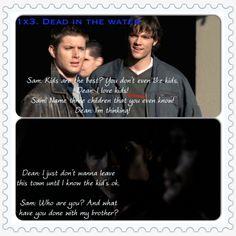 "Supernatural Season 1, Episode 3 ""Dead in the water"". #HuntMeDean"