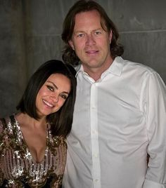 Mila Kunis  behind set of The Spy Who Dumped Me with cinematographer Barry Peterson ( Budapest, Hungary... August 2017 ) shared to groups 3/28/18