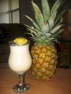 Virgin Piña Colada from Food.com:   								A summer classic, this is cool and refreshing! For a sweeter, less tangy drink, use pineapple canned in syrup rather than its own juice.  Southwest, Southern and Mexican recipe.