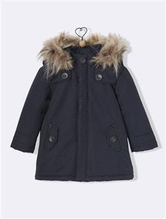 parka bb ans si 4 ans juste couleur marque taille rouge cyrillus fourrure amovible taille juste couleur marine