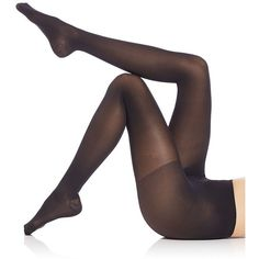 Falke Women's Leg Vitalizer 40 Light Compression Pantyhose ($54) ❤ liked on Polyvore featuring intimates, hosiery, tights, black, lingerie - designer hosiery, long compression tights, compression hosiery, panty hose stockings, falke hosiery and sheer tights