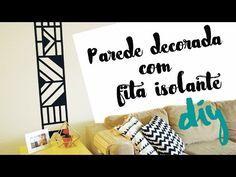 DESAFIO DIY: Decore com fita isolante! por Isabelle Verona - YouTube