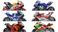 Las motos de MotoGP 2017