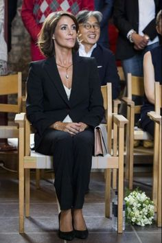 Princess Marie attended the inauguration of the exhibition of Georg Jensen in Kolding.03/09/2015
