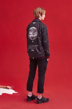 "ANTIMATTER 2015 Fall/Winter ""SCARED"" Lookbook"