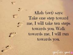 Every action is met with an even greater one when it is done for Allah!