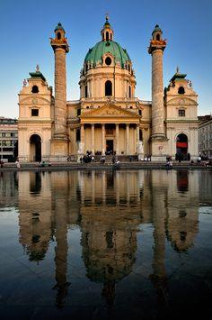 Charles's Church - Vienna, Austria