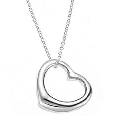 [$6.99]-Lovely Love Silver Plated Necklaces