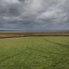 Tracks Llanrhidian Marsh Gower Glamorgan. #ukcoastwalk Photo: Quintin Lake www.theperimeter.uk
