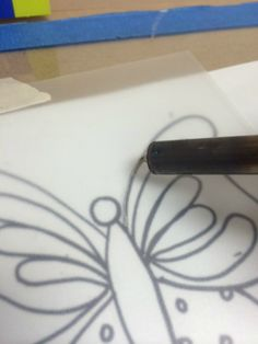 Learn How to Make Your Own Stencil Designs - It's Easy!  The Plaid Palette blog post by Chris Williams